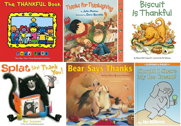toddler books about thanksgiving